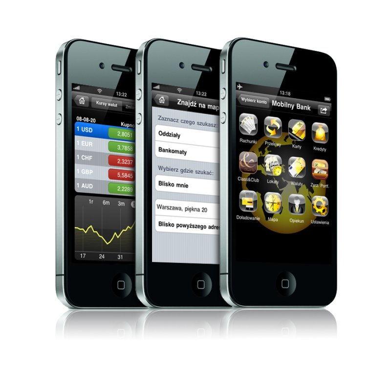pierwszy w pełni mobilny bank