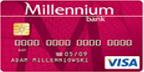 Karta Kredytowa Millennium Bank Visa lub MasterCard
